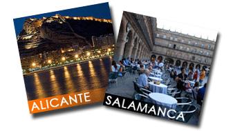 Soggiorno misto Salamanca-Alicante Corsi di Spagnolo